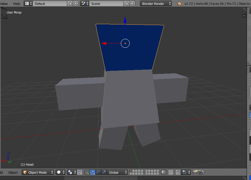 FBX files exported from Blender are invisible if a Material is not