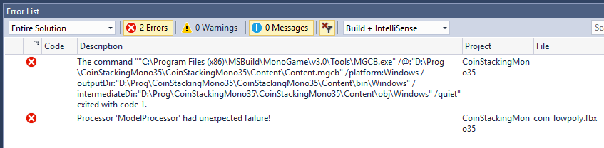 FBX with Tangents/Binormals not supported? - Community